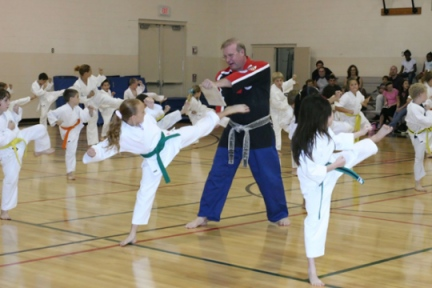Kinney Karate Class at a recreation center