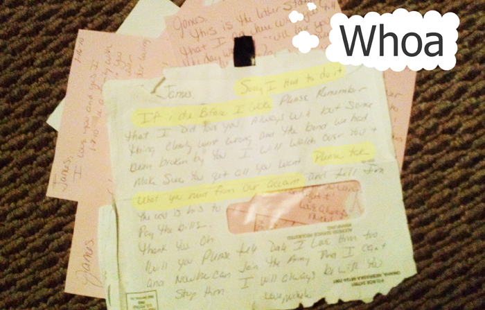 Shelly's Grudge - Final Letter