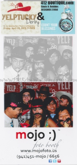 Group Pic using Fotobooth