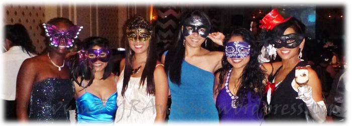 Saturday night's party - Masquerade!