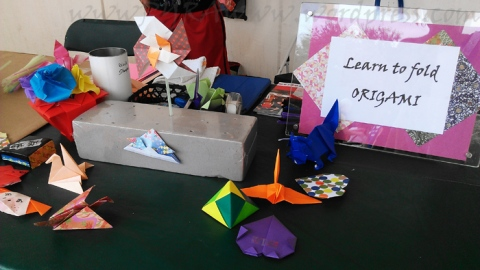 Learn how to fold some origami