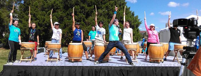 Taiko Drum workshop