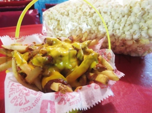Chili Cheese Fries and Kettle Corn
