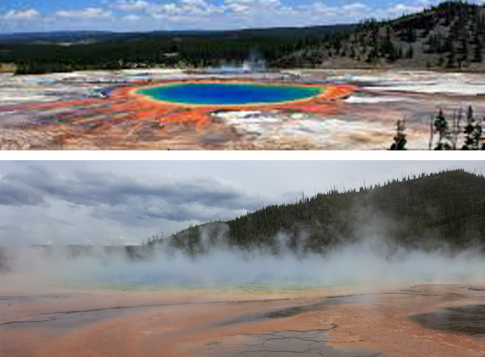 Grand Prismatic Spring comparisons