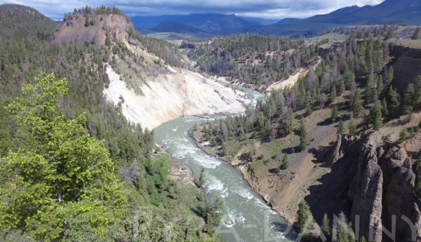 Calcite Springs Overlook