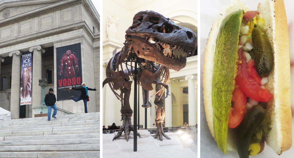 Field Museum and food