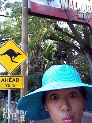 Selfie at Busch Gardens