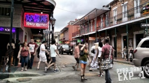 Walking Bourbon Street
