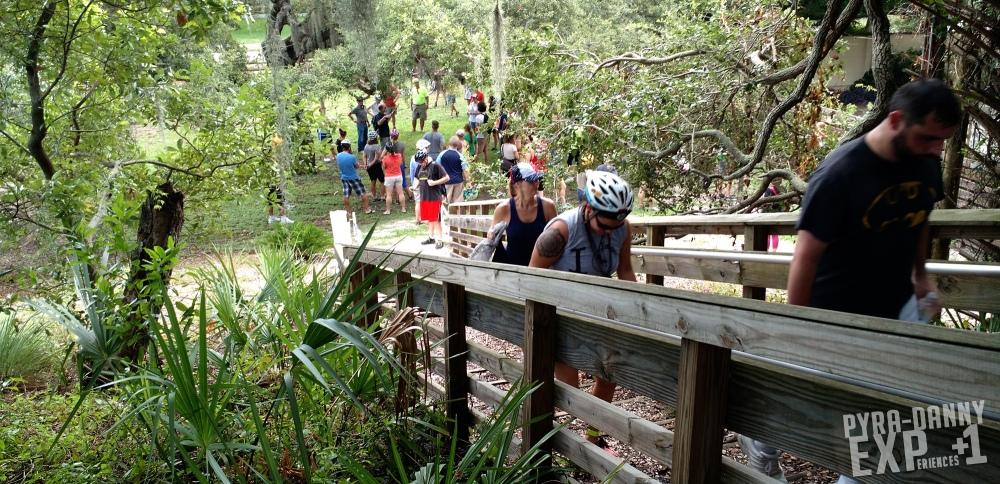 Climbing Pinellas Point Mound