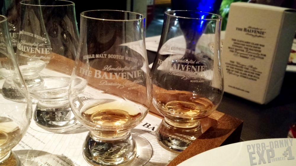 Side view of the Scotch flight