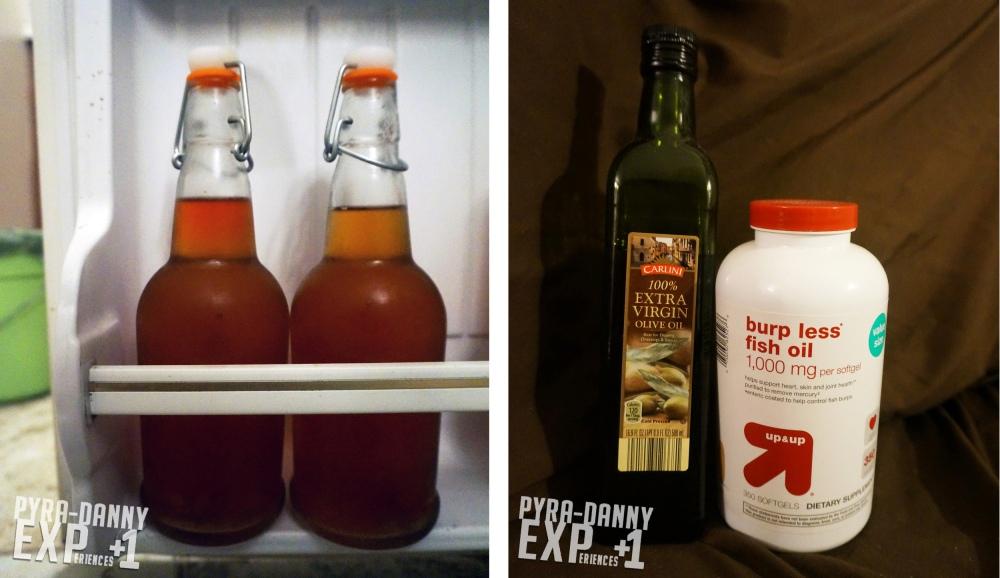 EczeMADRoutine - Fish Oils and Kombucha