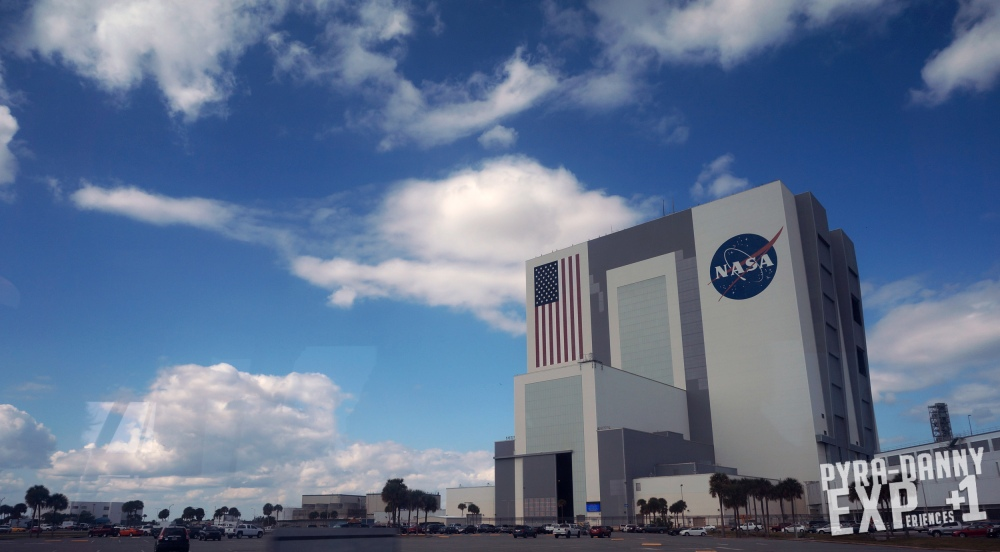 Kennedy Space Center - Visitor Complex - NASA's Vehicle Assembly Building [PyraDannyExperiences.com]