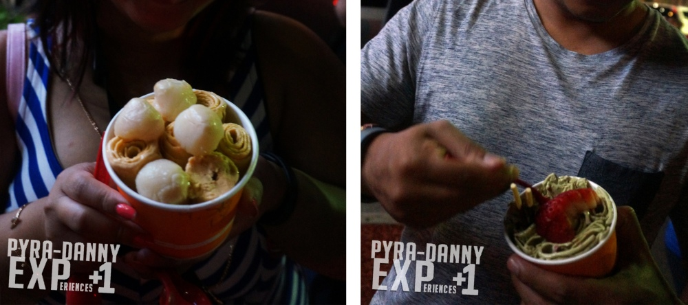 Rolled Ice Cream from 8 Fahrenheit [Atlanta Too Much | PyraDannyExperiences.com]