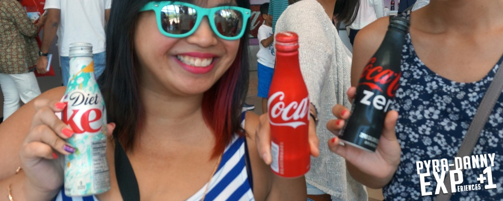 Souvenir Coca-Cola bottles to drink or keep [Too Many in Atlanta | PyraDannyExperiences.com]