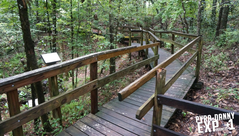 Boardwalk at Falling Waters [The Tallahassee Outdoors | PyraDannyExperiences.com]