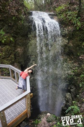 Tall Florida waterfall [The Tallahassee Outdoors | PyraDannyExperiences.com]