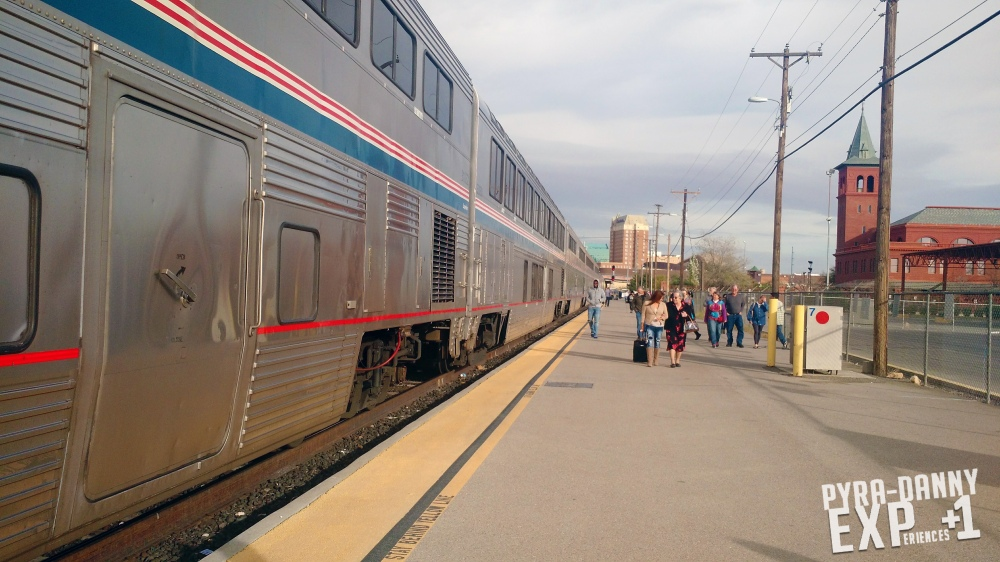 Time to enter our Amtrak in El Paso [Florida to Alpine: All-Day Travel | PyraDannyExperiences.com]