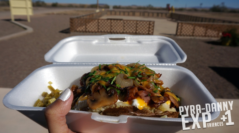 Texas Tater from Snack Shack [That Trip to Terlingua, TX | PyraDannyExperiences.com]