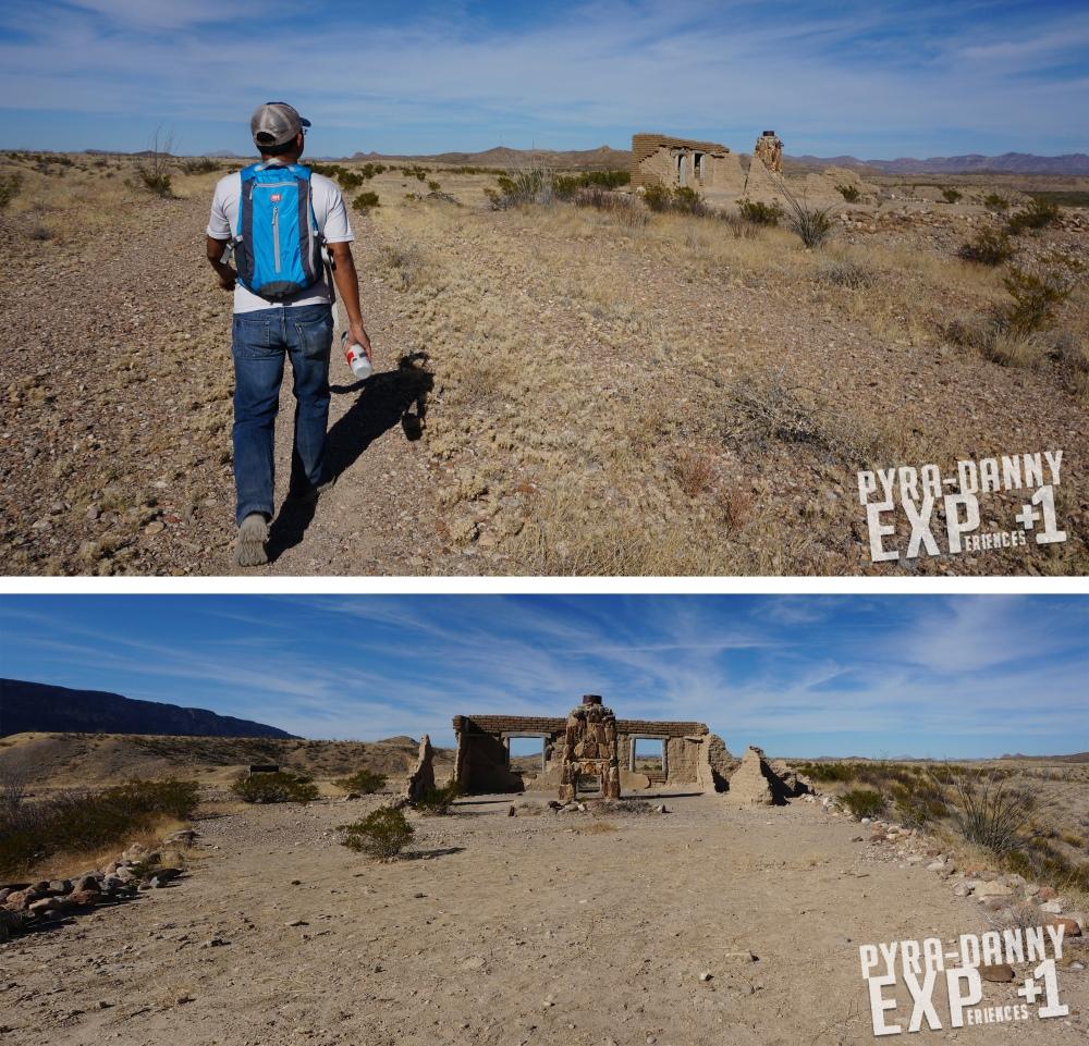 Settler ruins at Dorgan-Sublett Trail [Big Bend: Big Scenery | PyraDannyExperiences.com]