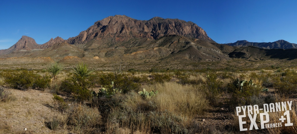 Chisos Mountains [Big Bend: Big Scenery | PyraDannyExperiences.com]