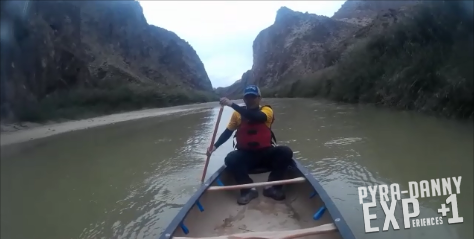Canoeing the Dark Canyon [Canoeing the Rio Grande | PyraDannyExperiences.com]