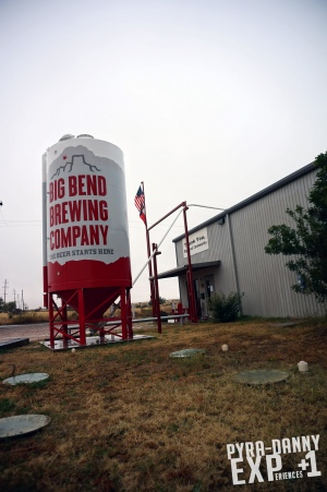 Big Bend Brewing [Rainy Day in Alpine, TX | PyraDannyExperiences.com]