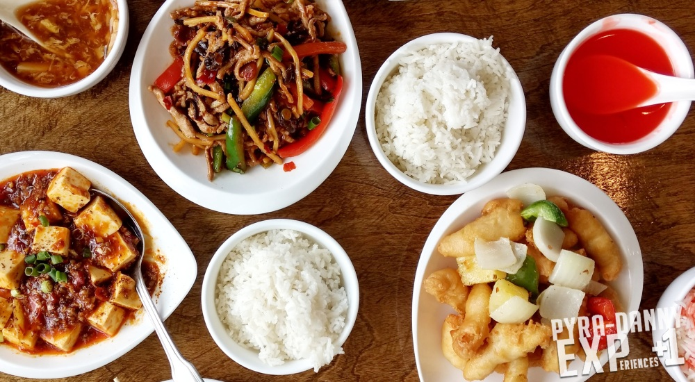 Lunch specials at Chuan Lu Gardens [Quick Orlando Art and Food | PyraDannyExperiences.com]