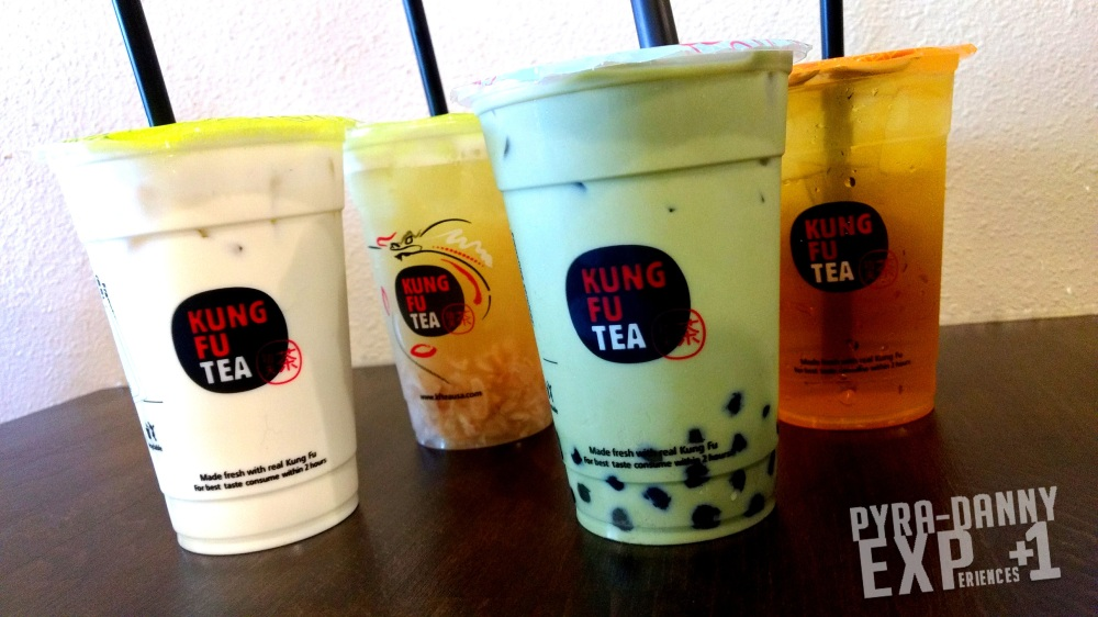 Kung Fu Tea Boba drinks [Quick Orlando Art and Food | PyraDannyExperiences.com]