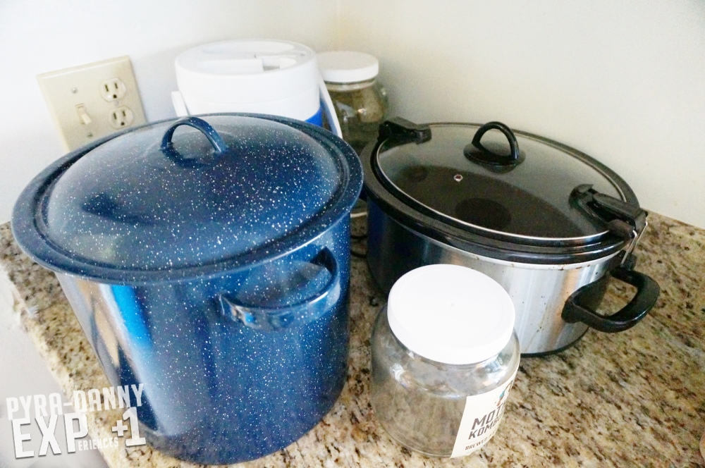 Lots of water containers [Keeping Sane After a Hurricane | PyraDannyExperiences.com]