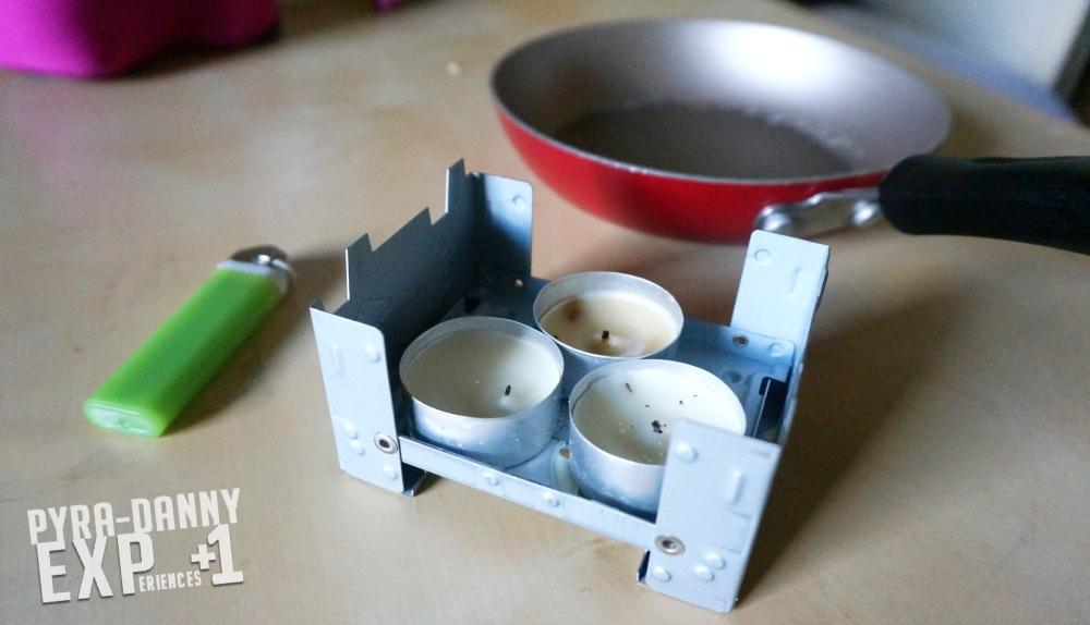 Portable camping stove [Keeping Sane After a Hurricane | PyraDannyExperiences.com]