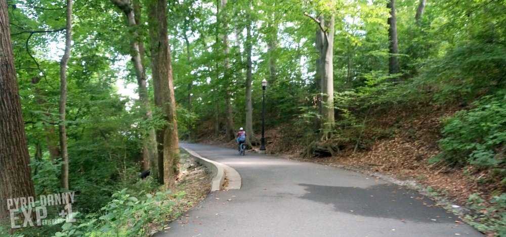 Biking deep into Piedmont Park [Back to Atlanta   PyraDannyExperiences.com]