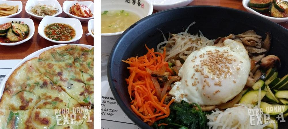 Food from So Gong Dong Tofu [Back to Atlanta   PyraDannyExperiences.com]