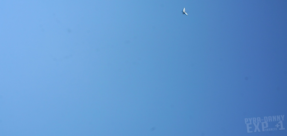Hanggliding peacefully in the air [First Impressions of Asheville   PyraDannyExperiences.com]