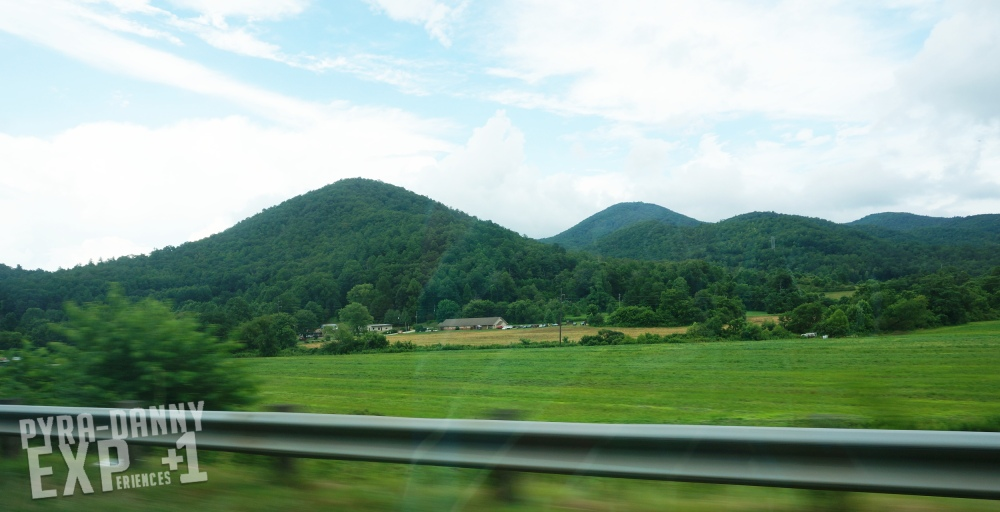 Driving from Atlanta to Asheville [First Impressions of Asheville   PyraDannyExperiences.com]