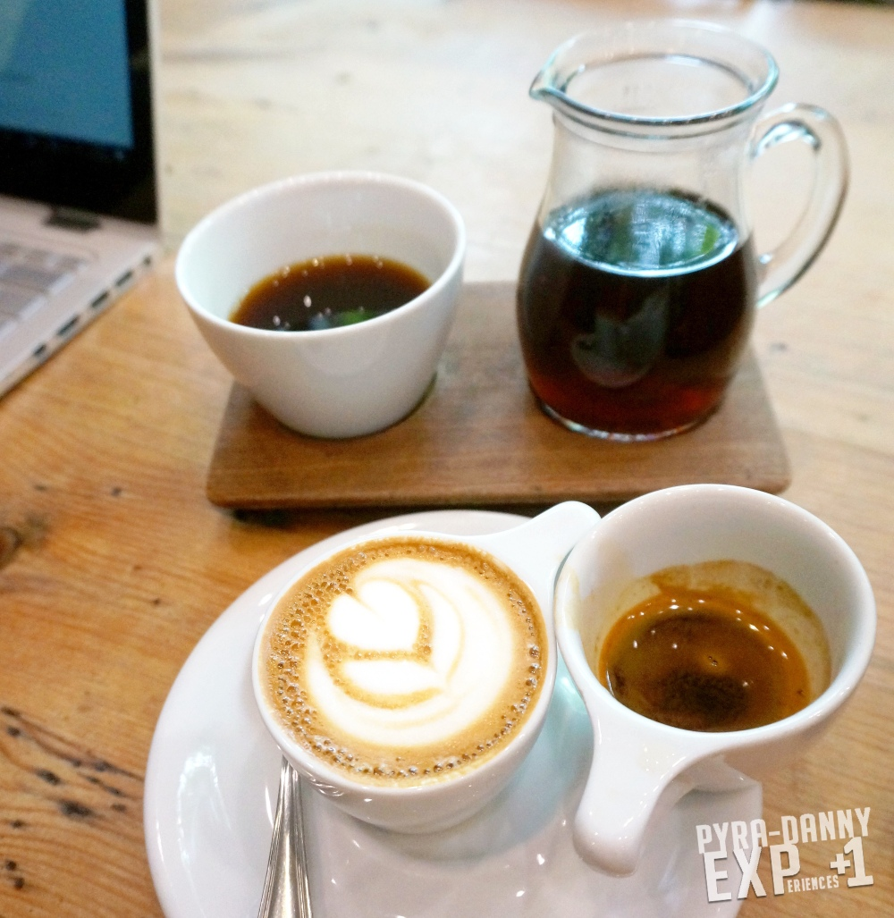 Verve Coffee drip coffee and a one-to-one [Dining around Santa Cruz | PyraDannyExperiences.com]