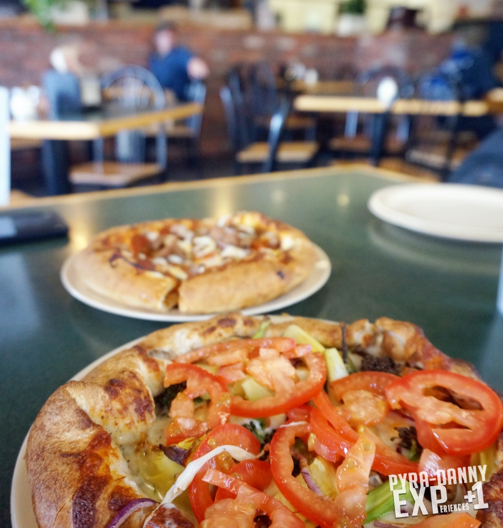 Pizza from Woodstock Pizza [Dining around Santa Cruz | PyraDannyExperiences.com]